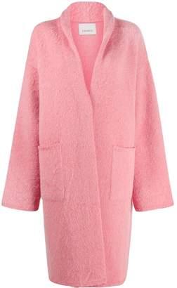 Laneus oversized midi coat