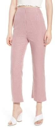 WAYF Pisa High Waist Crop Pants