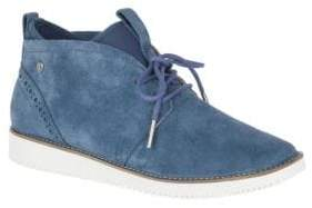 Hush Puppies Womens Chowchow Suede Chukka Boots