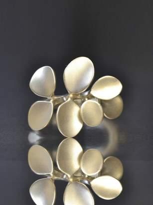 BEIGE Kataoka Petal Band Ring Gold