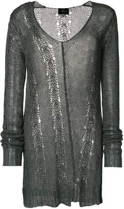 Lost & Found Ria Dunn sheer long-sleeve sweater