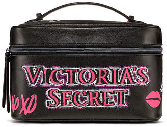 Victoria's Secret Victorias Secret Graffiti Weekender Train Case