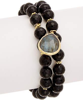 Rachel Reinhardt 14K Over Silver Gemstone Bracelet
