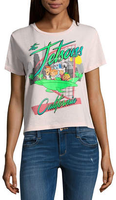 Freeze The Jetsons Cropped Tee - Juniors