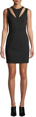 Bailey 44 Deuce Ponte Cutout Mini Dress