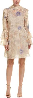 Anna Sui Dancing Dandelions Shift Dress