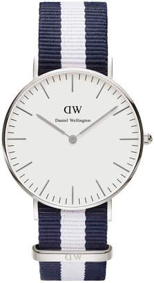Daniel Wellington Classic Glasgow 36mm Silver Watch