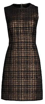 Elie Tahari Women's Jaelyn Tweed Mini A-Line Dress - Size 0