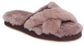 Women's Ugg Abela Genuine Shearling Flip Flop $79.95 thestylecure.com