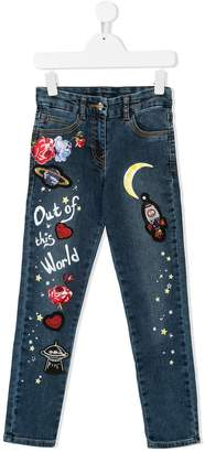 MonnaLisa Out of This World skinny jeans