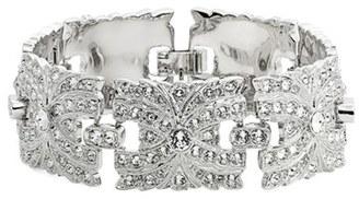 Nina Swarovski Crystal Filigree Link Bracelet $198 thestylecure.com