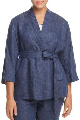 Marina Rinaldi Focus Linen Jacket