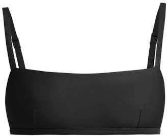 Matteau - The Square Crop Bikini Top - Womens - Black