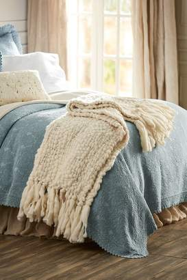 Soft Surroundings Townsend Hand-Loomed Home Accent Scarf