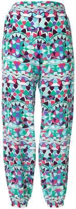 Emilio Pucci printed harem trousers