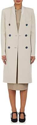 Giorgio Armani Women's Cashmere Melton Double-Breasted Coat $6,895 thestylecure.com