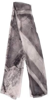 Alexander McQueen Silk Printed Shawl