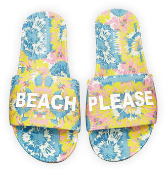 Schutz Beach Please Pool Slide Sandals