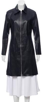 Private Label Sharis Place Collared Knee-Length Coat