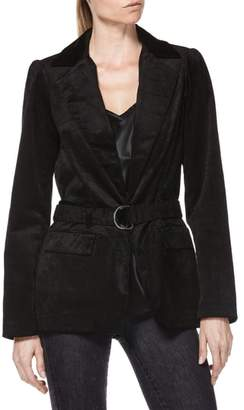 Paige Sorrenti Stretch Velvet Corduroy Jacket