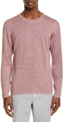 Ermenegildo Zegna Linen Jaspe Crewneck Sweater