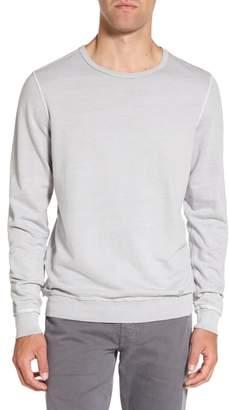 AG Jeans Brendan Raw Edge Crewneck Sweatshirt
