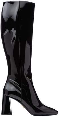 Prada Squared Toe Boots