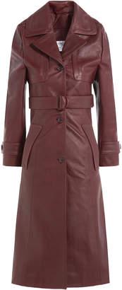 Vetements Leather Coat