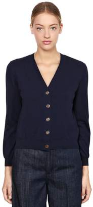 Tory Burch Cotton Knit Cardigan