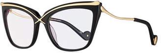 Karlsson Anna-Karin Lusciousness Divine Cat-Eye Optical Frames, Black