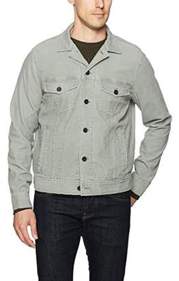 Michael Bastian Men's Pigment Dyed Stretch Corduroy Trucker Jacket