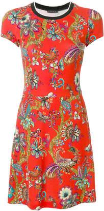 Etro floral print short dress