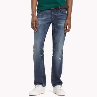 Tommy Hilfiger Distressed Straight Fit Jean