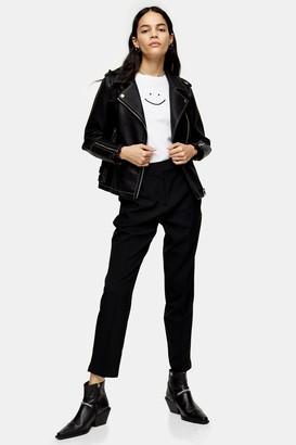 Topshop Black Cigarette Trousers