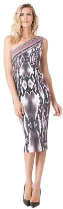 Hale Bob Julissa One Shoulder Dress