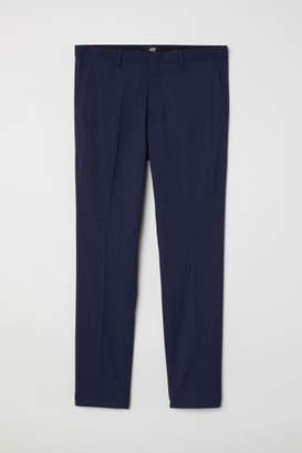 H&M Suit Pants Super Skinny fit - Blue