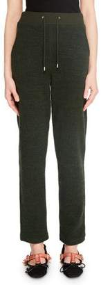 Carven Straight-Leg Drawstring Lounge Pants