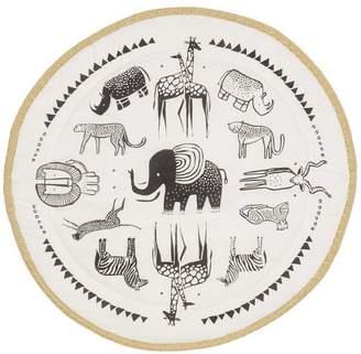 Wee Gallery Safari Print Organic Cotton Play Mat