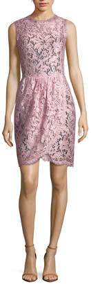 Dolce & Gabbana Crewneck Asymmetric Dress