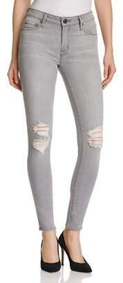 Parker Smith Distressed Skinny Jeans in Concrete