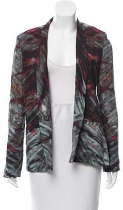 Kimberly Ovitz Tie-Dye Notch-Lapel Blazer
