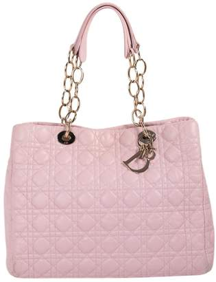 Christian Dior Soft Shopping leather tote