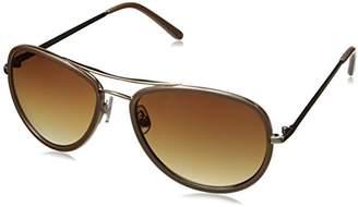 Adrienne Vittadini Women's AV3000-718 Aviator Sunglasses