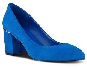 Women's Nine West Astor Block Heel Pump $88.95 thestylecure.com