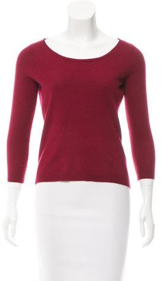 Sandro Open-Back Wool Sweater $75 thestylecure.com