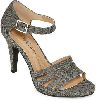 Andrew Geller Womens Tangela Heeled Sandals