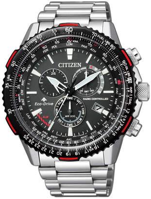 Citizen CB5001-57E World Time Silver Watch