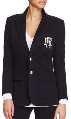Polo Ralph Lauren Custom-Fit Two-Button Fleece Blazer