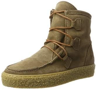 Ca Shott Ca'shott Women A18110 Moccasin Boots Beige Size: