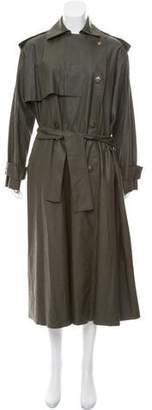 Lanvin Heavy Long Leather Jacket w/ Tags